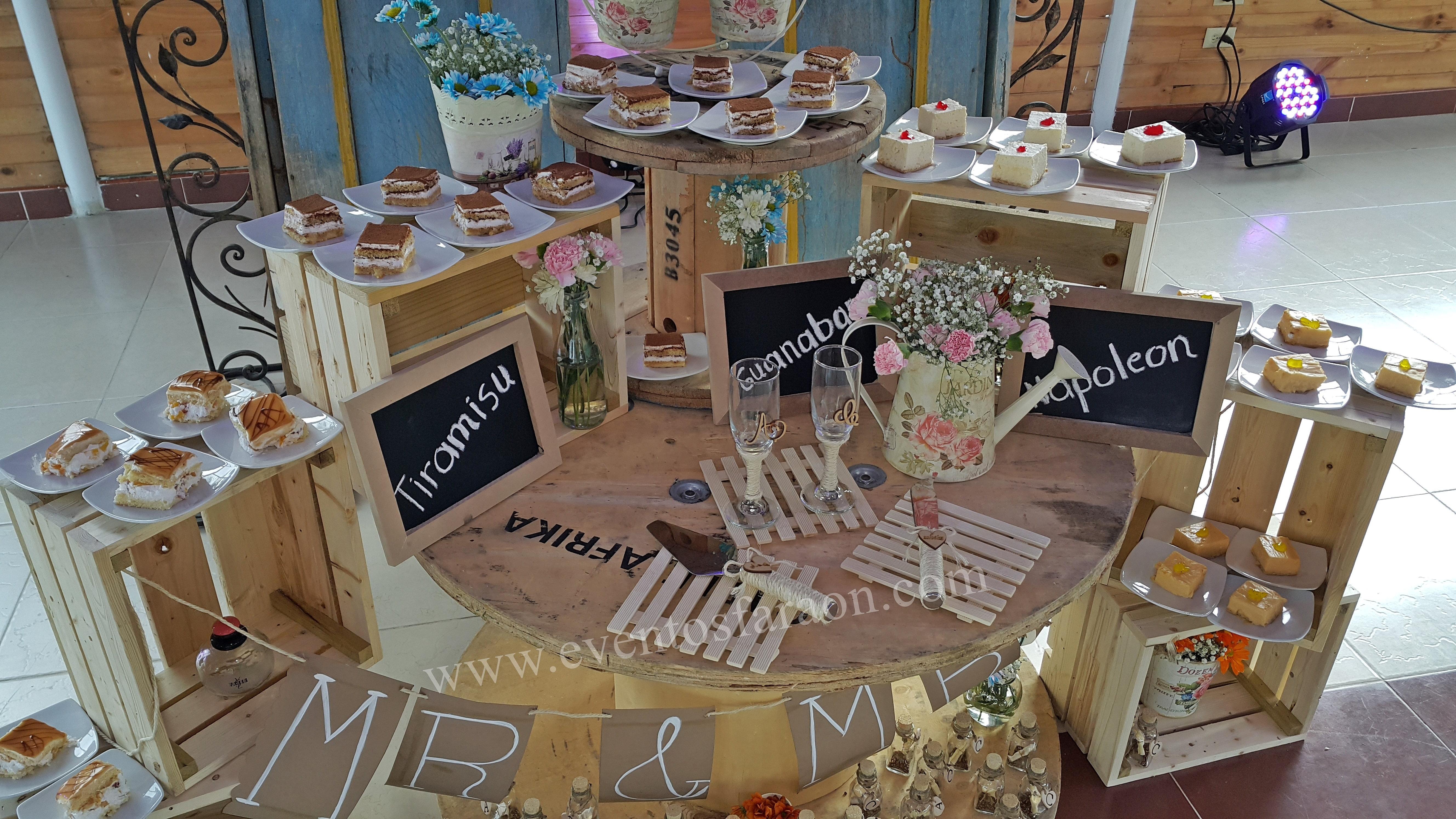 bodas vintage en salon