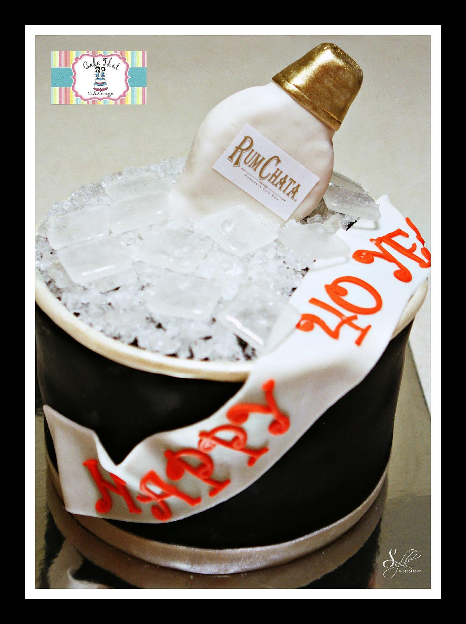 Rumchata Birthday Cake