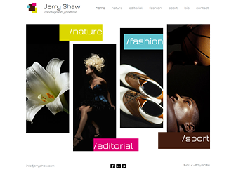 Współczesny Fotograf Template - Wykorzystaj ten nowoczesny szablon strony i stwórz dopracowane portfolio online. Możesz zaprezentować swoje projekty zamieszczając zdjęcia w galeriach oraz opowiedzieć swoją historię dopasowując tekst. Baw się kolorami i dokonaj zmian projektu, aby wyrazić swoją wizję estetyczną.