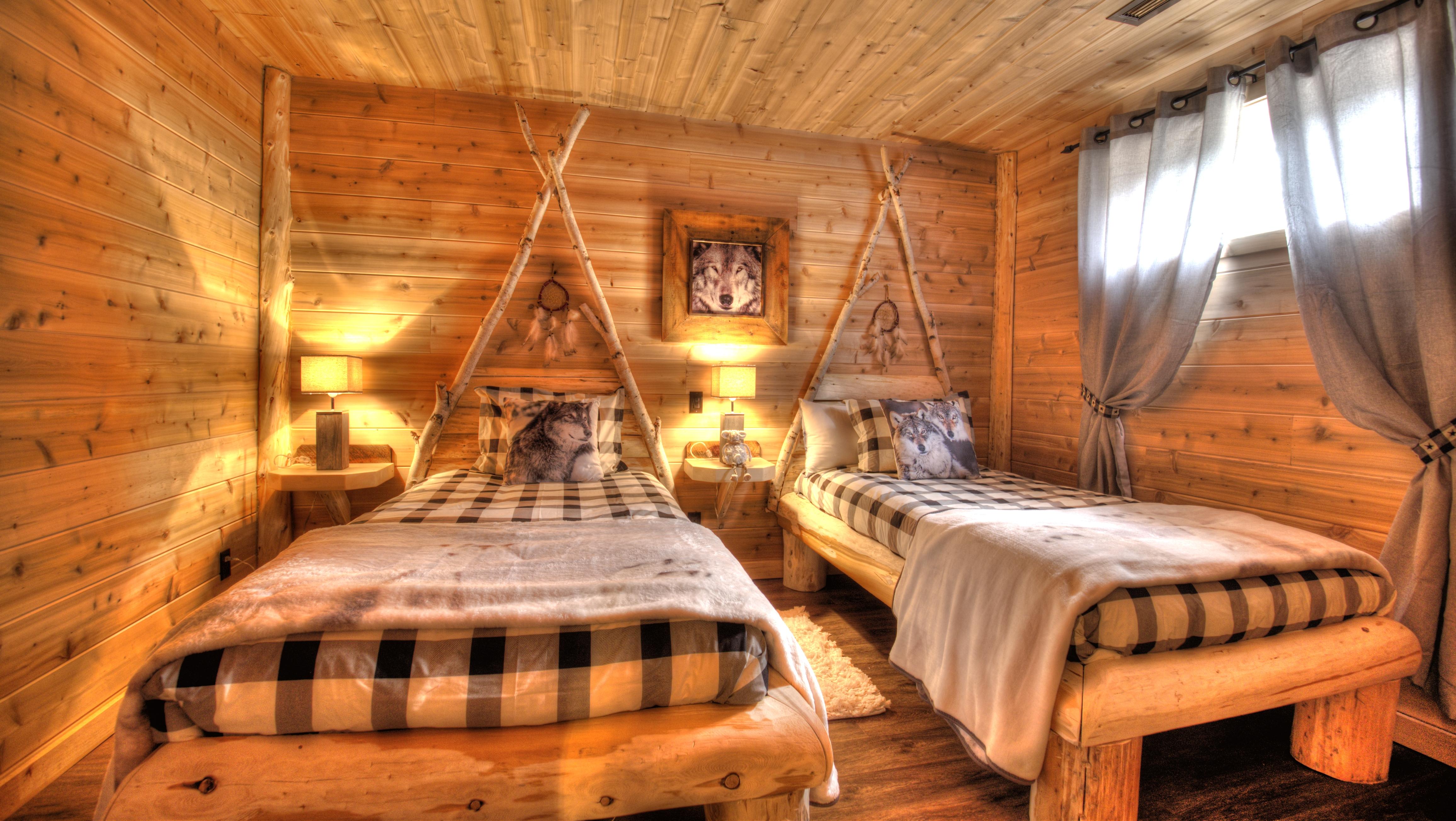 Hotel Avec Foyer Au Bois : Chalets spa canada réservez