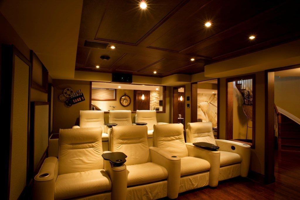 Just basements ottawa basement design build stittsville basement home theatre - Small spaces big design decoration ...
