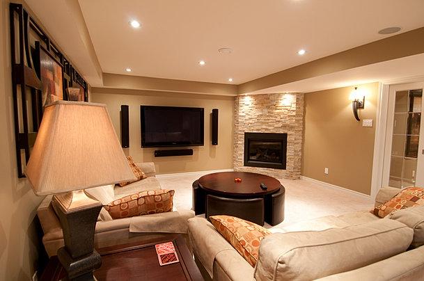Stonebridge Basement Family Room