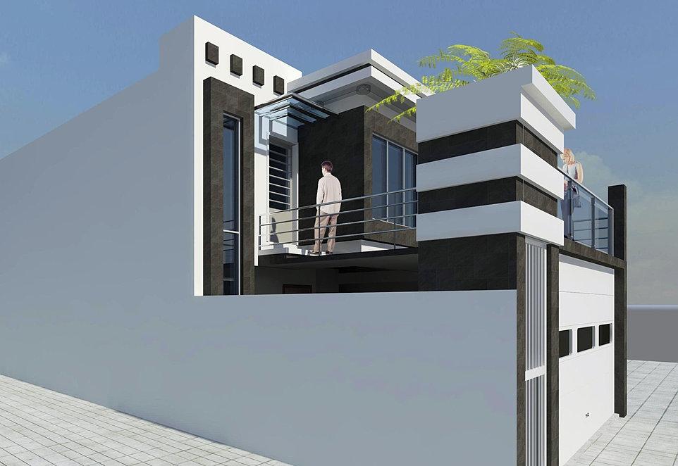Arquitectos en tijuana arquitectos en rosarito for Casa minimalista 6x15