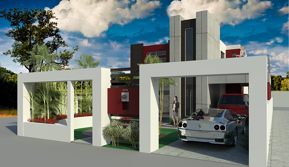 Arquitectos en tijuana arquitectos en rosarito for Renta casa minimalista tijuana