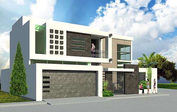 Casa moderna for Casas modernas futuristas