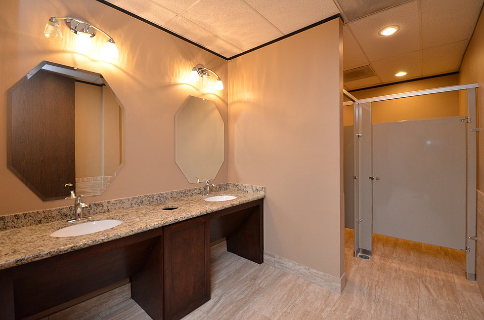 Commercial Bathroom Remodel in Katy. DGB Services   Construction   Remodeling   Katy  TX