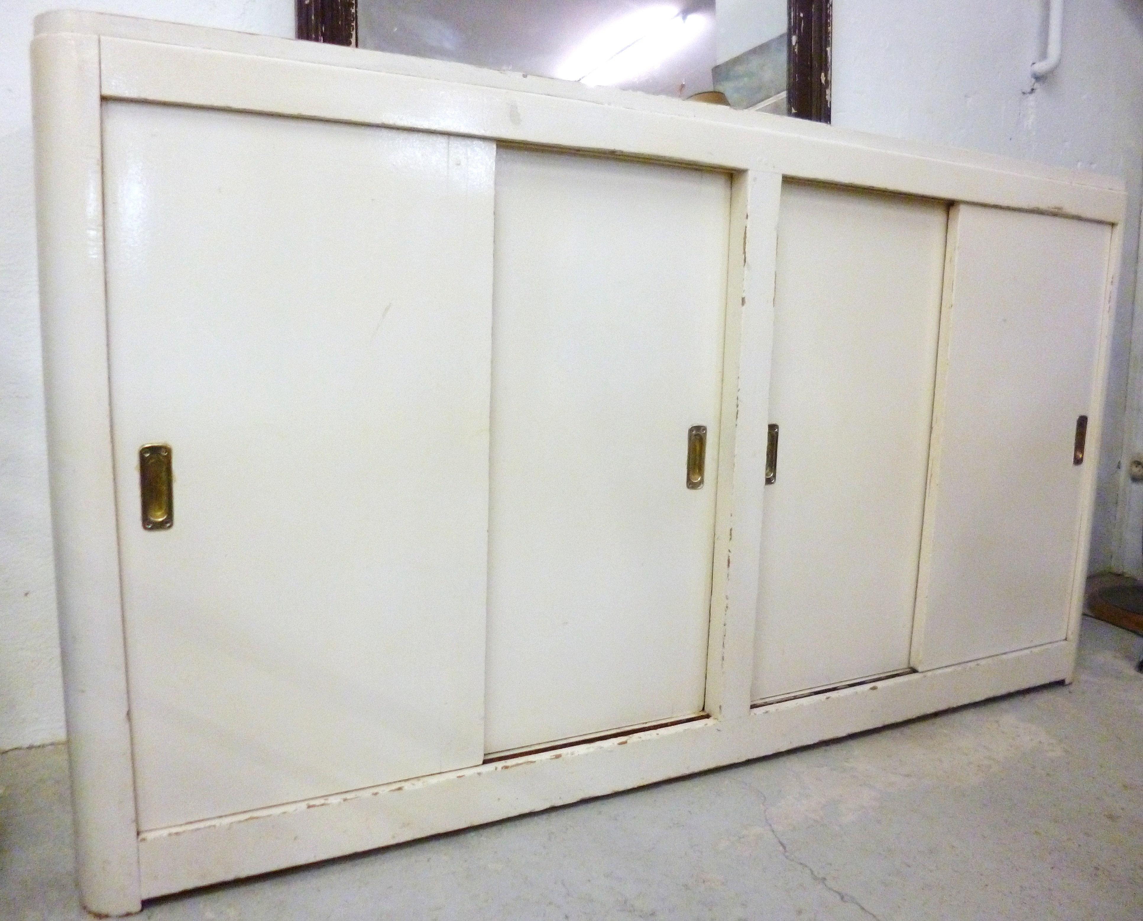 nancy brocante vintage enfilade portes coulissantes. Black Bedroom Furniture Sets. Home Design Ideas