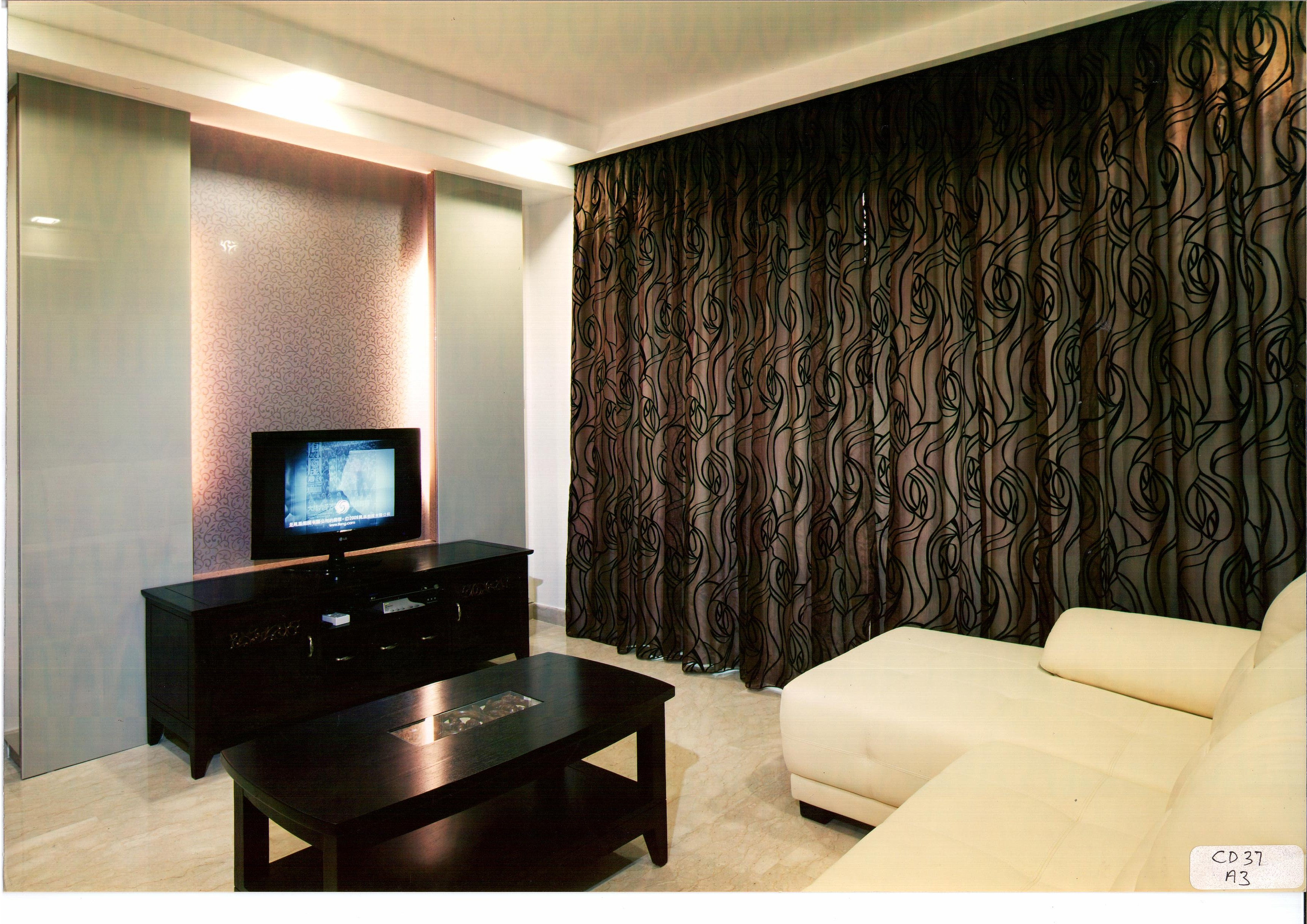 Curtains And Window Blinds In Singapore Design Print Curtain