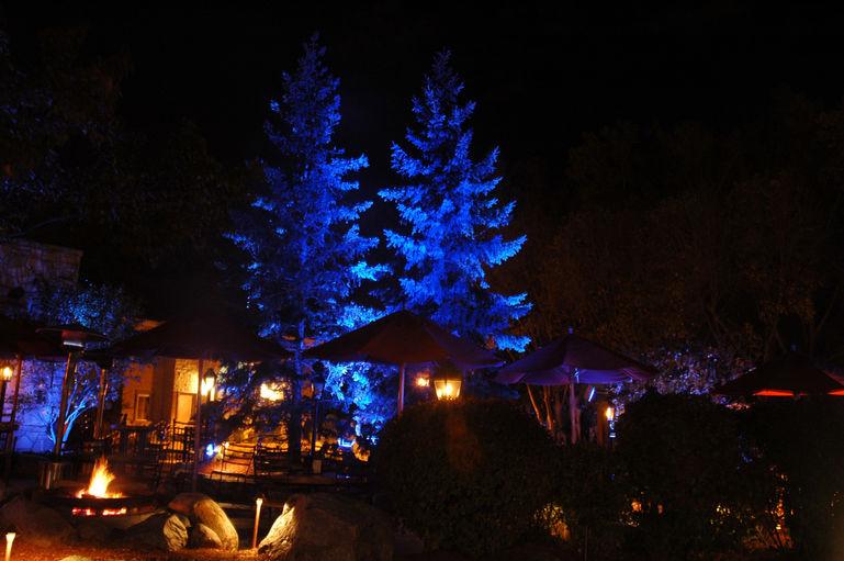 LED RGB Lighting - JRD Landscape Lighting Design Inc