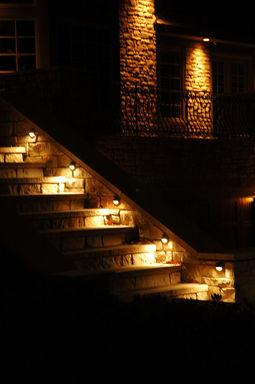 Step Lighting on Stone & JRD Landscape Lighting Design Inc | lighting-ideas azcodes.com