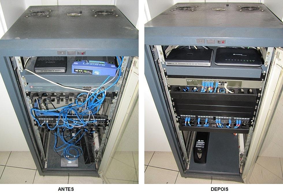 Reestruturação Rack Servidor 4
