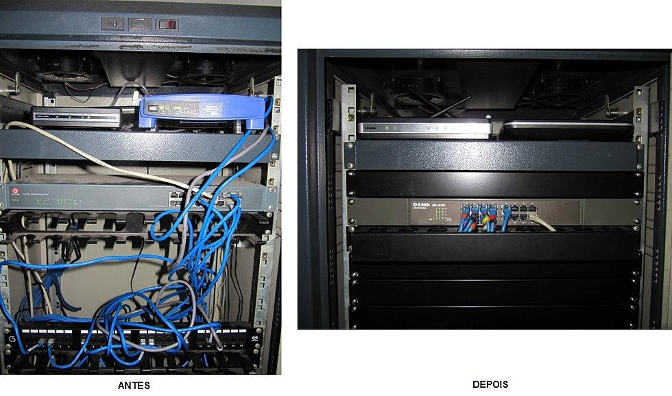 Reestruturação Rack Servidor 2