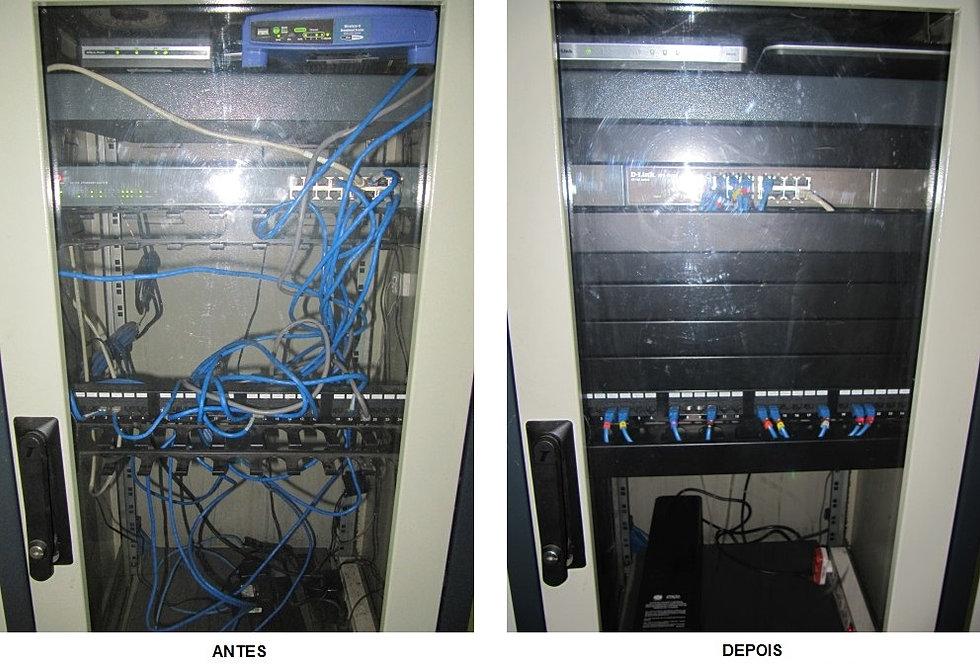 Reestruturação Rack Servidor 3