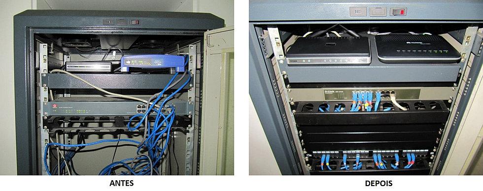 Reestruturação Rack Servidor 1