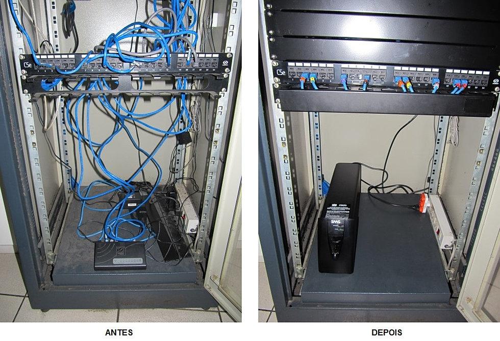 Reestruturação Rack Servidor 5