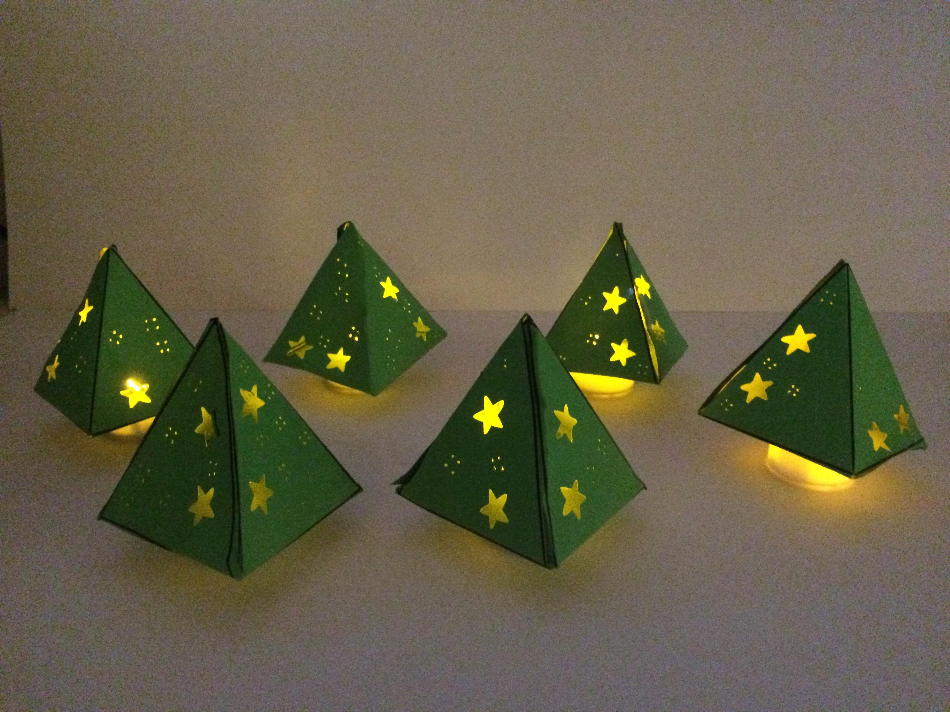 Kerstboom Lichtje Juf Joycella