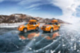 Фотографии Зимнего Байкала
