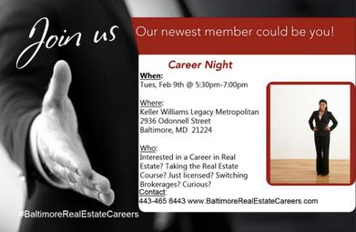 Baltimore Real Estate Careers - Keller Williams Legacy Metropolitan