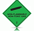 non flammable non toxic gas labels from label makers