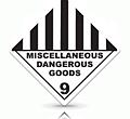 miscellaneous dangerous goods label makers australia