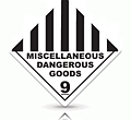 miscellaneous dangerous goods label makers australia