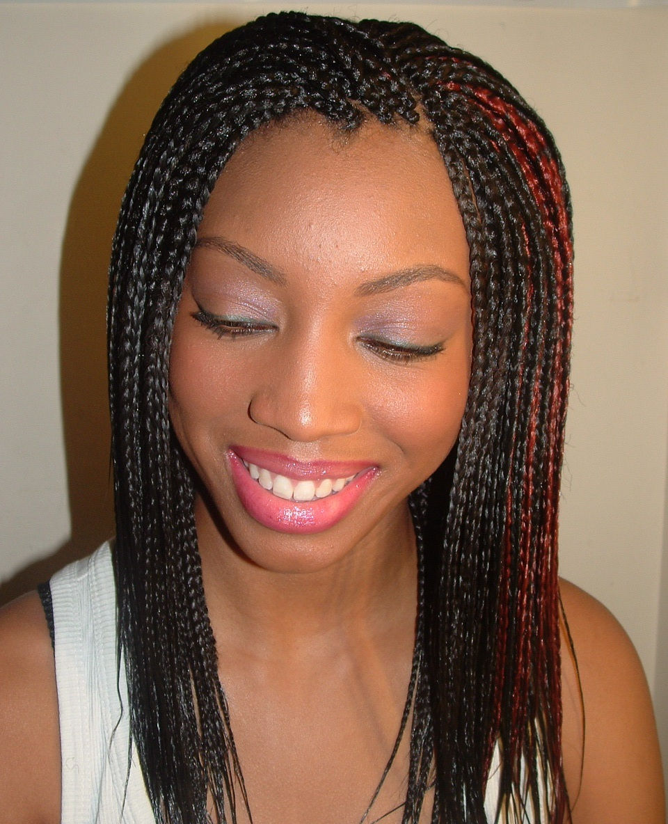 African Women Hair Braid Hairstyles