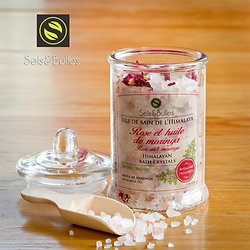 Sels de bain Relaxation ~ Rose ancienne
