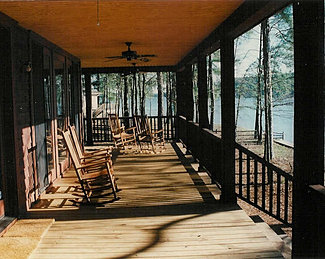 Residential architect dallas for Cypress porch columns