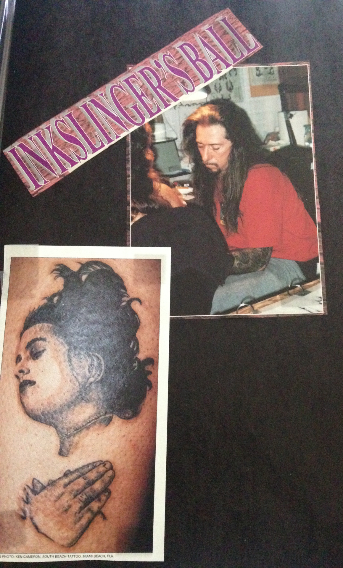 1993 inkslinger 39 s ball tattoos by lou miami 39 s original for Tattoo convention los angeles