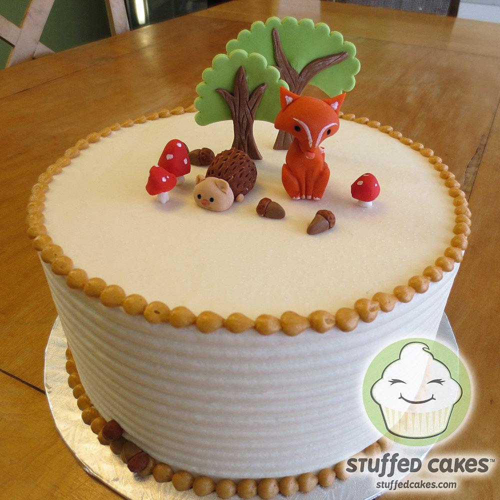 Fox For Cake