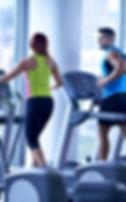 Man and Women on Treadmills