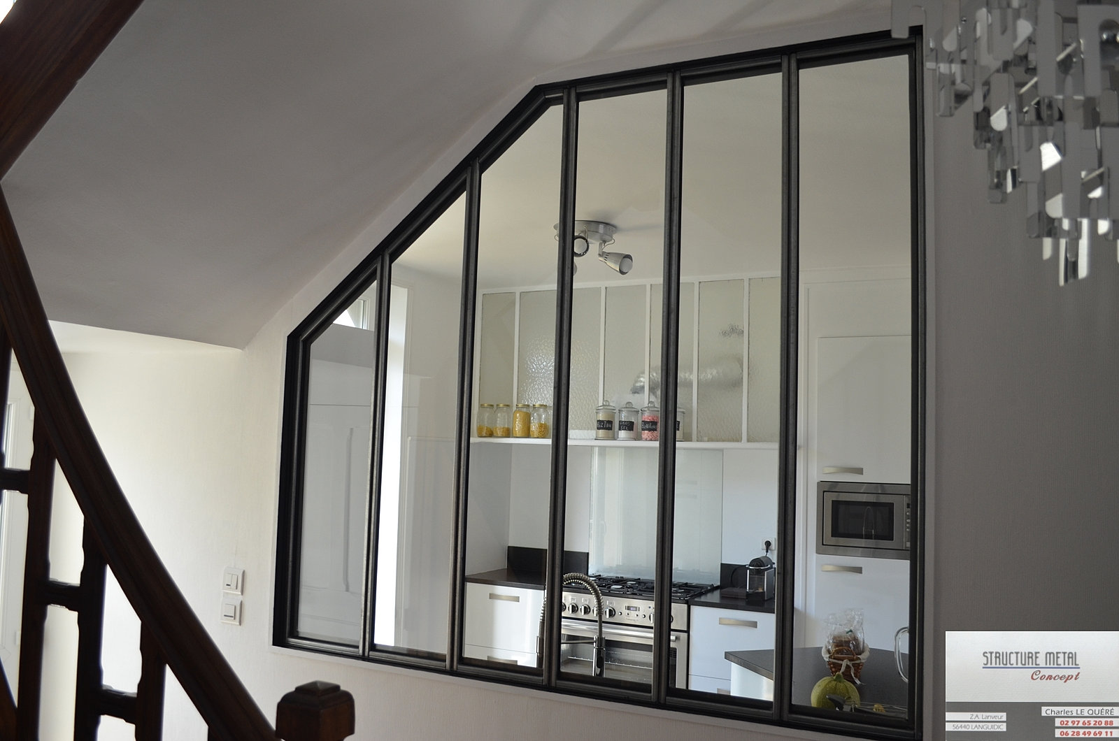 cloison vitr e structuremetalconcept. Black Bedroom Furniture Sets. Home Design Ideas
