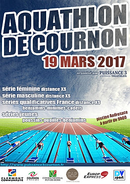 Puissance 3 cournon triathlon aquathlon de cournon for Piscine de cournon