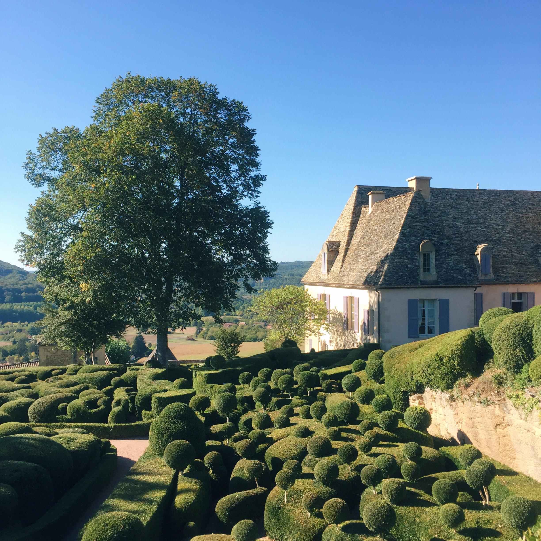 Les jardins du ch¢teau de Marqueyssac