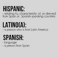 I'm confused about the term Hispanic vs Black?