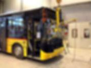 Carscheibe ersetzen LKW Frontscheibe Ersatz Kläsi Fahrzeugbau AG Amriswil