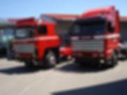 LKW Oldtimer Sanierung Scania Schöni Transporte Kläsi Fahrzeugbau AG Amriswil Spritzwerk