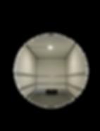 Leichtbaukoffer Kläsi Innenansicht Zurrschienen LED Leuchte
