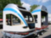 Zugfrontenlackierung Polyesterform Lackierung Schweiz Thurgau Ostschweiz Kläsi Fahrzeugbau AG Amriswil
