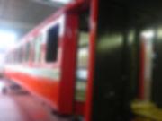 Zug Wagenkasten Lackierung Kläsi Spritzwerk Amriswil