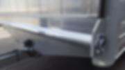 Aluminiumrampe Durchladesystem Hebehilfe Drehstabfederung