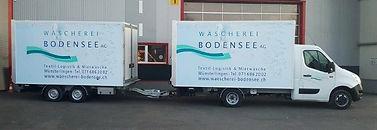 Bodenseewäscherei Anhängerzug Kläsi Fahrzeugbau AG