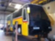 Sanierung Linienbus Rostsanierung LKW Reparaturwerkstatt Kläsi Fahrzeugbau AG Amriswil Thurgau Ostschweiz