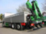 LKW Brücke Ladekran Heck Kläsi Fahrzeugbau AG