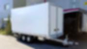 Durchladeanhänger Blache Alu Boden Fronttüren Hebebühne Kläsi Fahrzeugbau AG