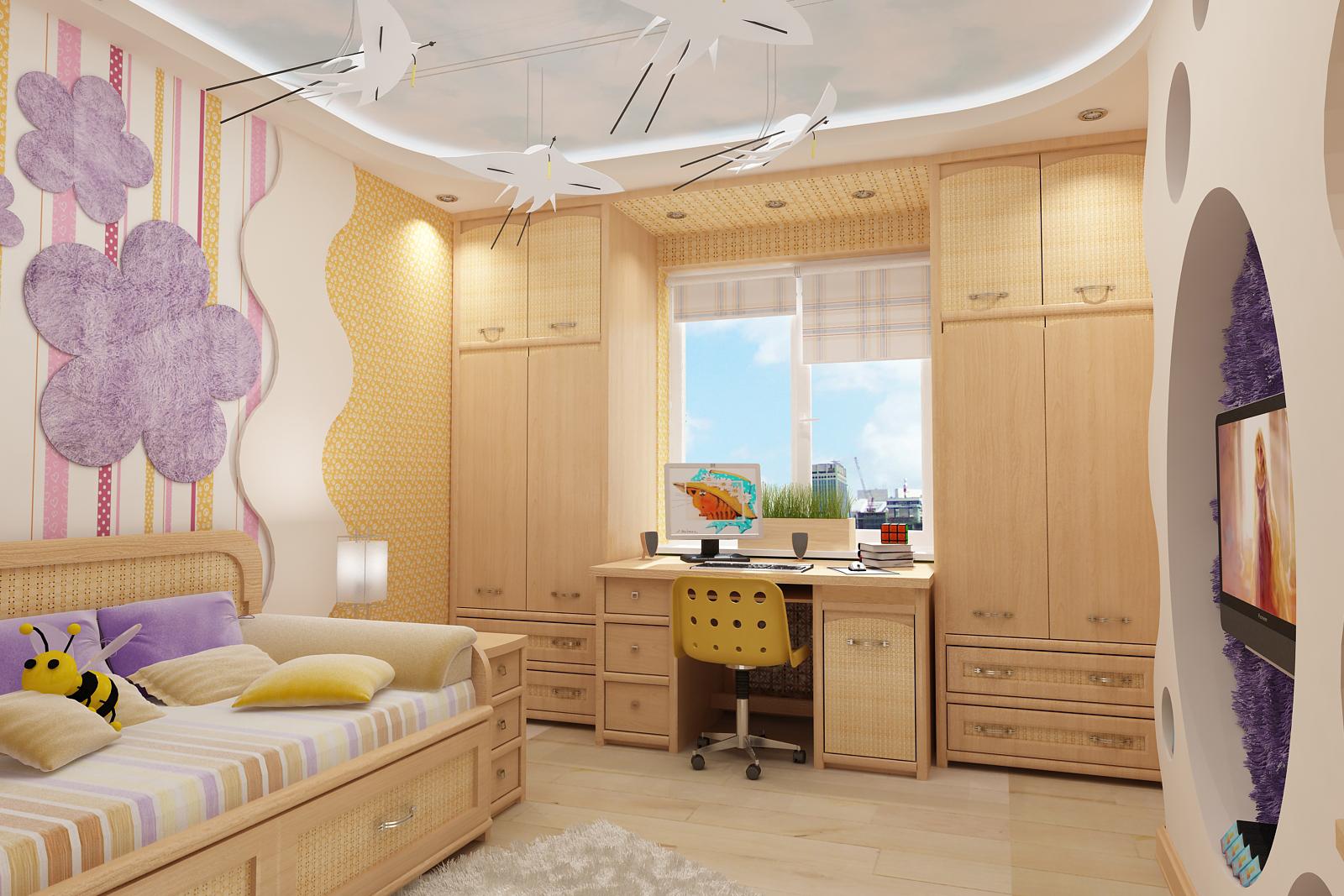 Дизайн интерьера квартиру 80 кв. м
