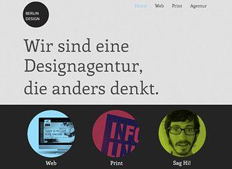 Designagentur Template - Eine funky Homepage-Vorlage für Ihren professionellen Kreativbetrieb. Bilder und Beschreibungen ins Onlineportfolio hochladen, das Ihre Arbeit präsentiert. Inhalte hinzufügen, Layout und Farben ändern und Ihre ästhetische Vision wird zur Realität.