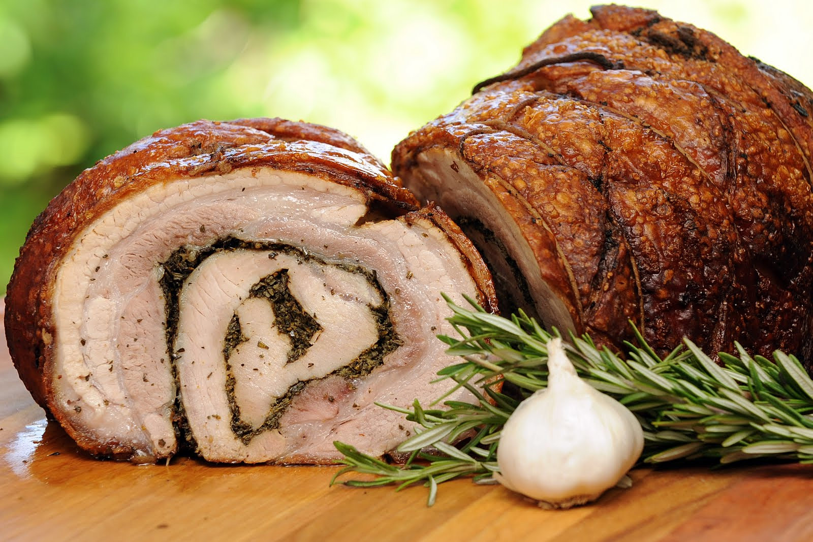 vide 36 hour all belly porchetta porchetta sandwich with balsamic ...