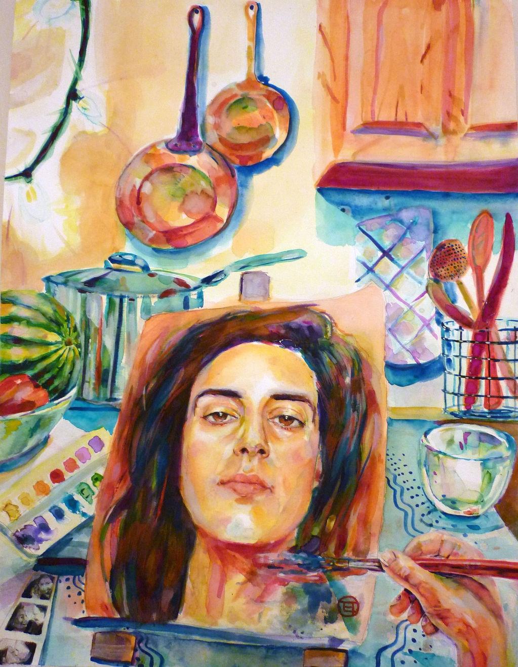 Lge Self Portrait
