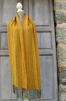 Echarpe, tissage artisanal 79€